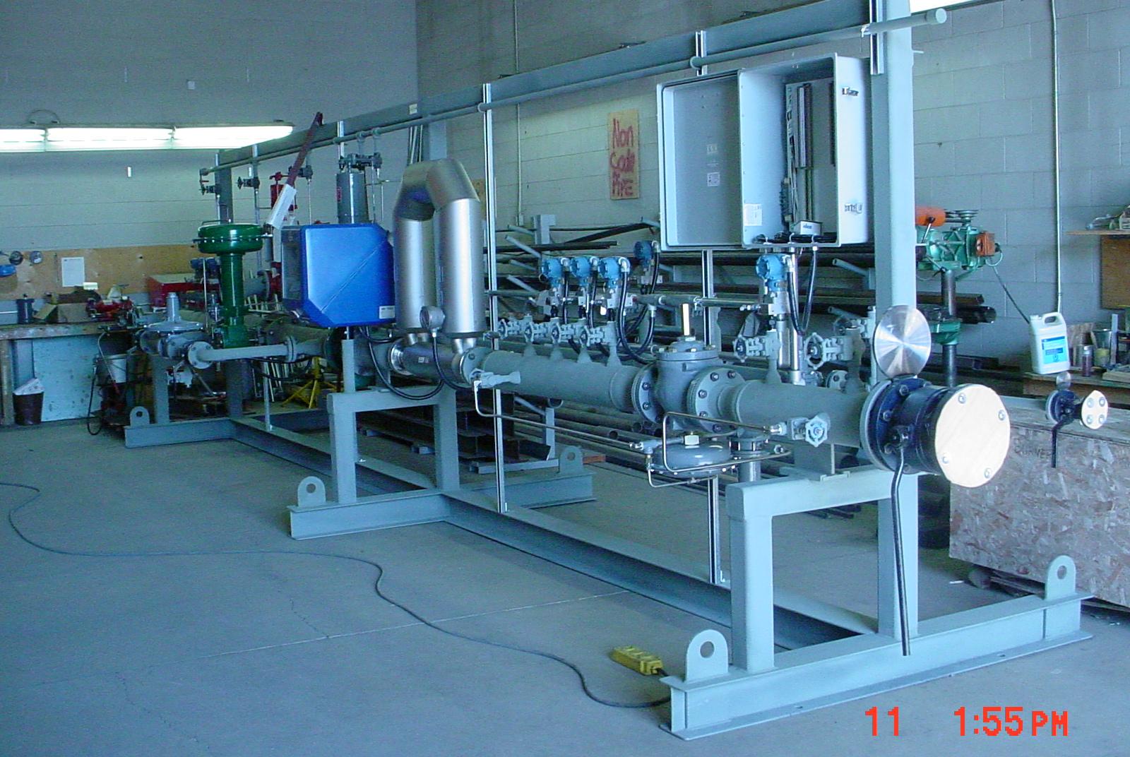 Fuel Train Retrofit Industrial Boiler