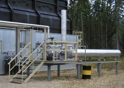 Oil Heater Installation